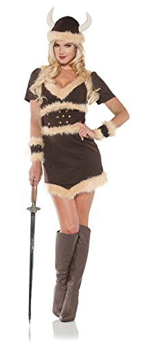 [Women's Viking Costume - Maiden] (Family Themed Halloween Costumes 2016)
