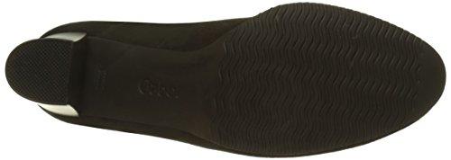 Heels Black Women's Gabor Fu Rot Comfort Closed Toe Fashion Black 47 Schwarz q0XwRwAHT