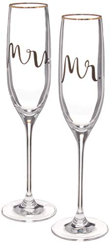 Kate Spade New York 880361 Bridal Party Flute Pair