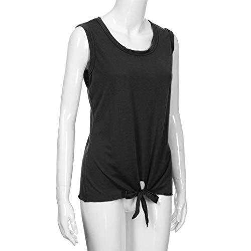 Damen Spitze Freizeit Bauchfrei Tank Tops Unterhemd T-Shirt Bluse Hemd 34 36 38