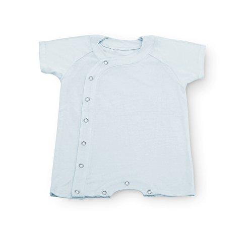 Lotus Springs Milk Jersey Short Sleeve Layette (0-6 mox, ...