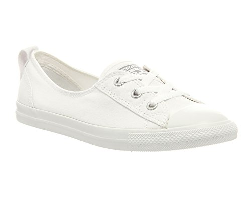 Chaussures basses Converse Chuck Taylor Ballet - Femme - Blanc - White Mono Exclusive, 36