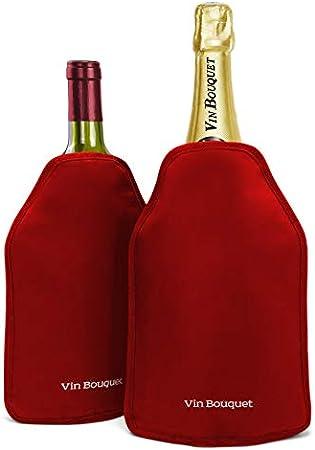 Vinbouquet fie 342 funda enfriadora autoajustable, rojo.