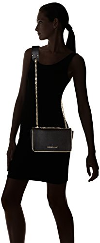 Versace Jeans Damen Ee1vqbbh2_e75426 Shopper, Schwarz (Nero), 7x15x23 cm