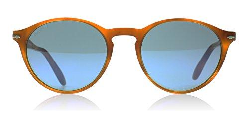 Persol Mens Sunglasses (PO3092) Brown/Blue Acetate - Non-Polarized - 50mm