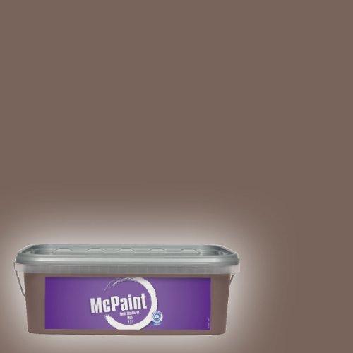 McPaint Bunte Wandfarbe matt Nougat 2,5 Liter
