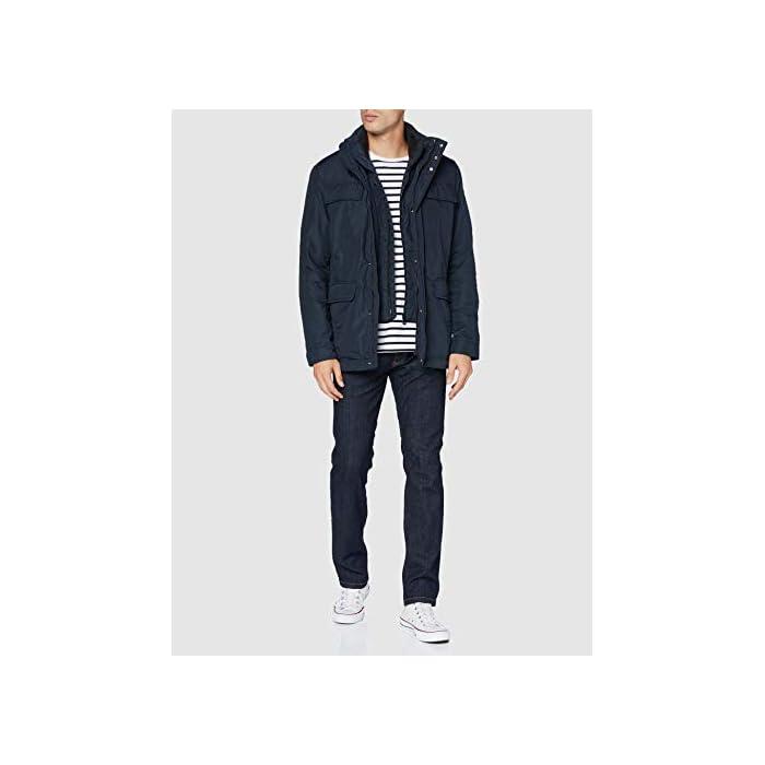 31 t4JcJTWL Abrigo formal con 4 bolsillos, una prenda informal para el uso cotidiano 100% Poliéster Cierre: Con tapa.