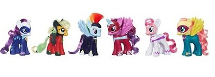 "My Little Pony 6"" Power Pony 6 Pack"
