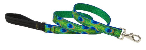 Lupine 1-Inch Tail Feathers 4-Feet Dog Lead, My Pet Supplies