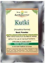Kutki Powder (Picrorhiza Kurroa) (Ayurvedic Herbs from Natural Habitat) 8.11 OZ, 230 GMS, 2X Optimum Potency
