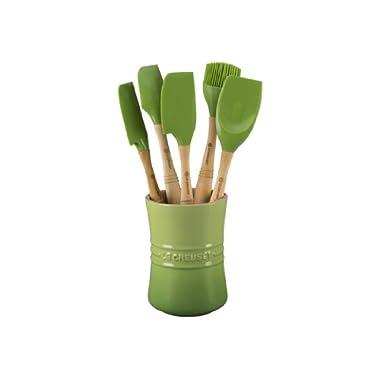 Le Creuset Revolution 6-Piece Silicone Kitchen Set, Palm