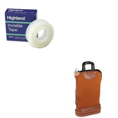 KITMMM6200341296PMC04644 - Value Kit - Pm Company Regulation Post Office Security Mail Bag (PMC04644) and Highland Invisible Permanent Mending Tape (MMM6200341296) ()
