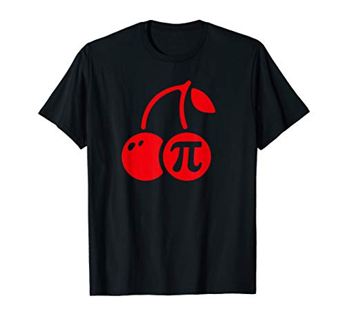 Cherry Pi Day Shirt, Funny Math Nerd Pie Teacher 3.14 Tshirt