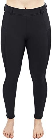 Irideon Women's Thermasoft Full Seat Breeches Black XS