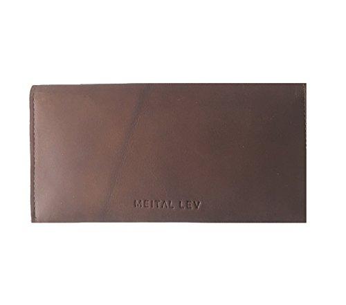 Handmade Designer Brown Genuine Leather wallet by MeitaLev
