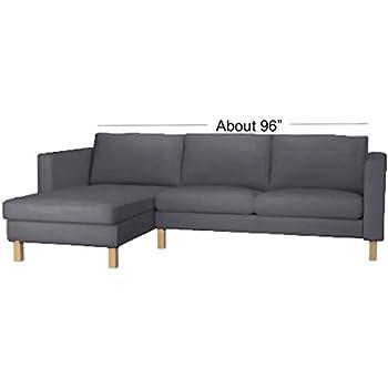 Amazon.com: Cover Only! Dense Cotton Karlstad Three Seat ...