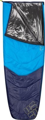 Columbia Raditor 40 Semi-Rec Eclipse Blue Sleeping Bag (Regular, Right Hand), Outdoor Stuffs