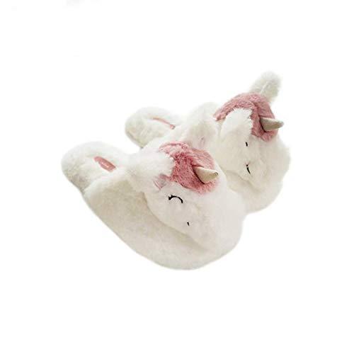 Unicorno Tenere Misura Unicorno Interno Style Di Da Linverno Morbido 36 Adulti 42 Kaymayn Forma Caldo Pantofole 11 Con Per Peluche nbsp;cm A E 25 Durante vqHHz6