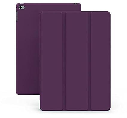 KHOMO Funda iPad Air 1 - Carcasa Morada Protectora Ultra Delgada y Ligéra con Smart Cover y Soporte para Apple iPad Air 1 - Dual Purple