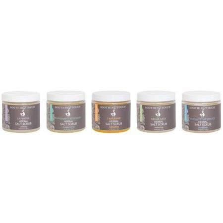 Soothing Touch W67365V1 Salt Scrub Vanilla, 10-Pound
