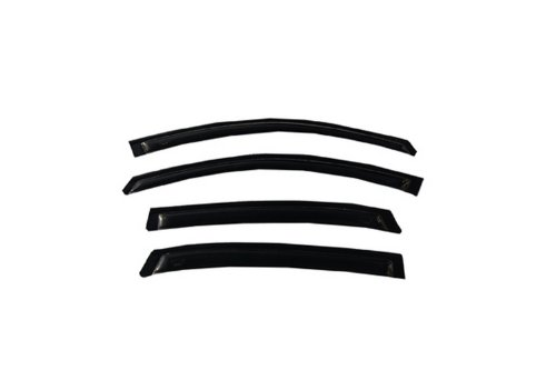 Auto Ventshade 94843 Original Ventvisor Side Window Deflector Dark Smoke, 4-Piece Set for 2006-2016 Chevrolet Impala
