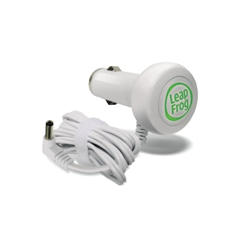 Leapfrog Leapster Cars - LeapFrog Car Adapter (Works with all LeapPad2 and LeapPad1 Tablets, LeapsterGS, and Leapster2)