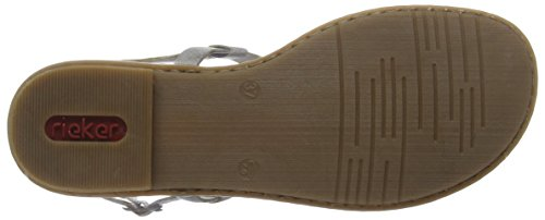 Sandals Grey Rieker WoMen Grey Sandals 64281 Women qEzOw
