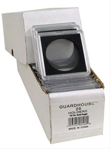 2×2 Coin Holders Box of 25 Guardhouse Snaplocks for Half Ounce Gold Eagles