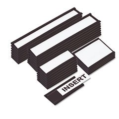 - MasterVision FM2631 Magnetic Card Holders, 6