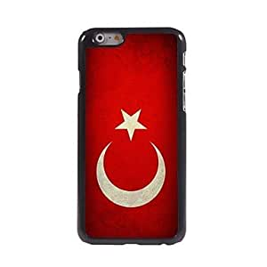 YULIN Vintage The Turkish Flag Design Aluminum Hard Case for iPhone 6
