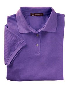 Ladies' Easy Blend Polo, Team Purple, 3XL