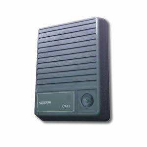 (VALCOM V-1074 Talkback Doorplate Surface Speaker- Gray)