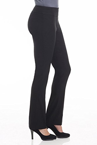 2b13fd36705 Rekucci Ease In To Comfort Fit Straight Leg Pant With Tummy Control
