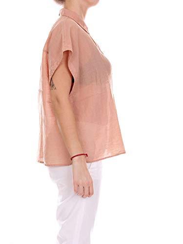 Camicia 18192271048753 Seta Donna Rosa Pomandère gqCdBg