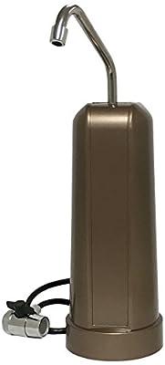 F5 40,000-Gallon Countertop Water Filter, Bronze Finish