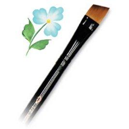 Royal & Langnickel R4160-1/4 Taklon Watercolor and Acrylic Brush Angular 1/4