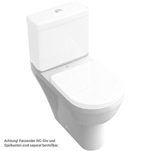 DIN 1385-6 pergamon SAVAL Stand-WC tief Abgang senkrecht