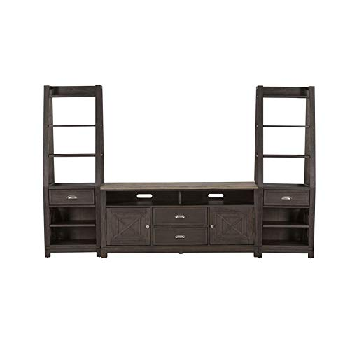 (Liberty Furniture Entertainment Center with Piers )