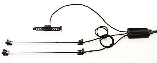 PPCS Luxury Single Braided Cold Cathode Kit V2 -UV (Purple) Cold Cathode Bulb