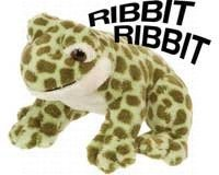 Green Spotted Frog - Wild Republic Frog Green Spot w/Sound