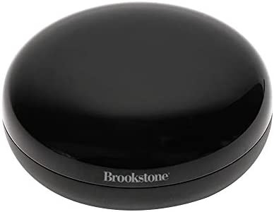 Brookstone Smart IR Controller – Alexa and Google Assistant Compatible Universal Remote Control for Infrared Controlled Devices and Appliances