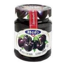 Hero Classica Premium Black Cherry Fruit Spread, 12 Ounce -- 8 per - Black Cherry Fruit Spread