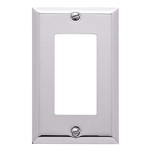 chrome wall outlet cover - 3