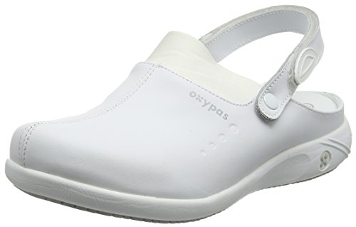 Oxypas Doria, Women's Safety Shoes, White (Wht), 7 UK (41 EU)
