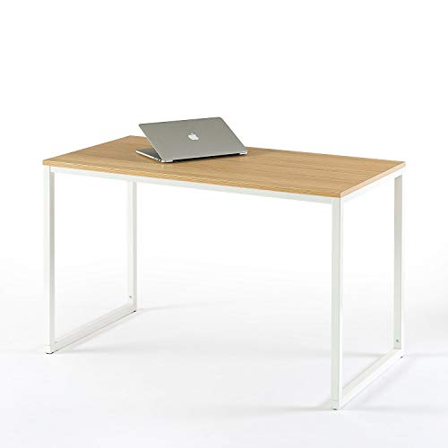 Zinus Modern Studio Collection Soho Desk / Table / Computer Table, Espresso, White - Dining Collection Modern Table