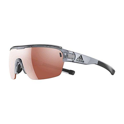 - adidas Zonyk Aero Pro L Shield Sunglasses, grey shiny, 74 mm