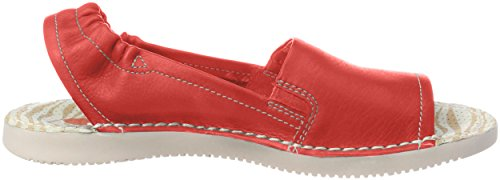Back Washed Sandals Red Women's Tee430sof Sling Softinos 16an4IH6