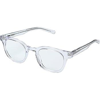 60a57c8655 eyebobs Unisex Waylaid Clear Reading Glasses