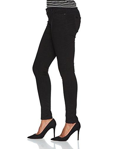 Vaqueros Mujer para Slim Noir Kaporal Black Black Locka 5W8qwU8xBF