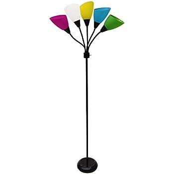 New Bronze Five Heads Spider Floor Lamp With